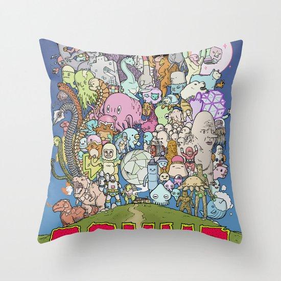 GAMMA cover Throw Pillow