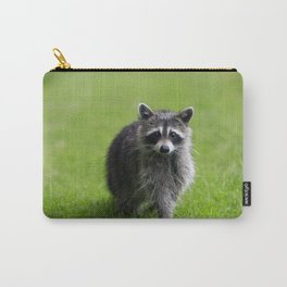 Curious Raccoon Carry-All Pouch