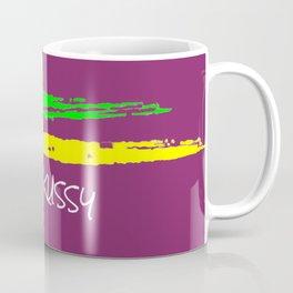 Plum Skussy stripes Coffee Mug