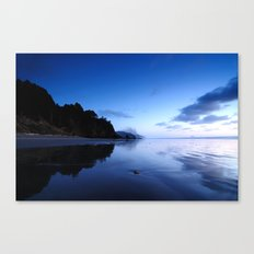 Oregon Beach at Sunset Canvas Print