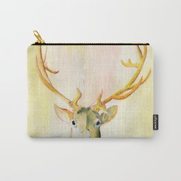Colorful Golden Stag Carry-All Pouch