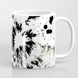 MONOCHROME SPLATTER Coffee Mug