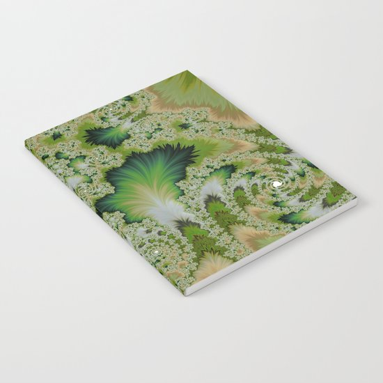 the green of spring abtract  Notebook