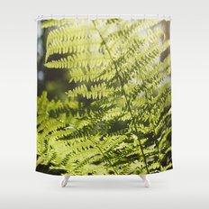 Sun leaf Shower Curtain