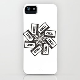 Mix Tape Whirl iPhone Case