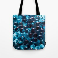 bubbles Tote Bags featuring Bubbles by Kristina Jovanova