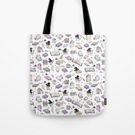 Wizard's Library Tote Bag