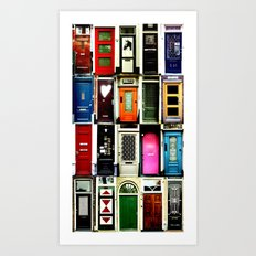 Doors of Amsterdam Art Print