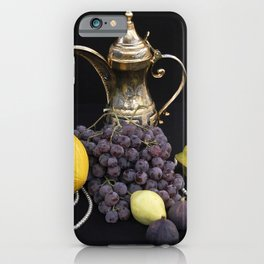 Oriental Fruit - Still life iPhone Case