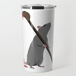 An Anagram of Art Travel Mug