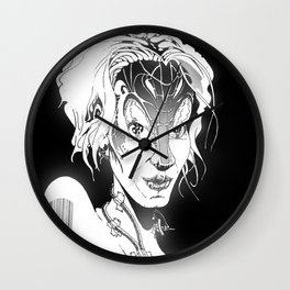 Deconnected Cyberian Wall Clock