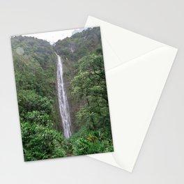 waimoku falls Stationery Cards