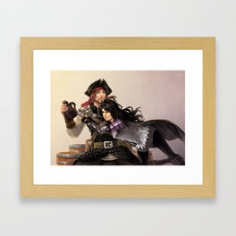 Playful Companions Framed Art Print