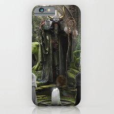 V. The Hierophant Tarot Card Illustration (Color) iPhone 6s Slim Case