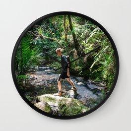 Wild Waterfalls 10 Wall Clock