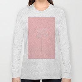 All in Pink Butterflies & Flower Long Sleeve T-shirt