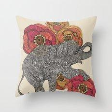 Rosebud Throw Pillow
