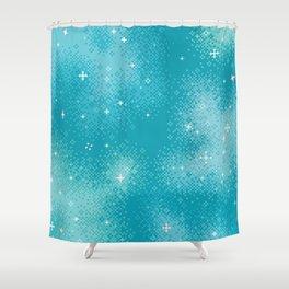 Winter Nebula Shower Curtain