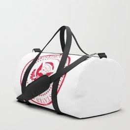 Presedent Seal Ruber Stamp Duffle Bag