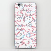 workout iPhone & iPod Skins featuring Workout by Jacopo Rosati