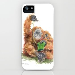 gramma knows best iPhone Case