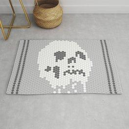 Skull Tile Rug