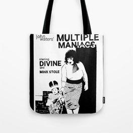 Multiple Maniacs DIVINE John Waters Tote Bag