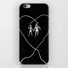 Love Space iPhone Skin