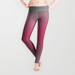 Metallic Hot pink Sheen Leggings
