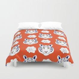 Auburn orange Duvet Cover