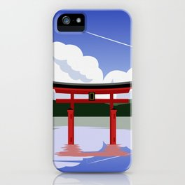 Floating Torii Gate iPhone Case