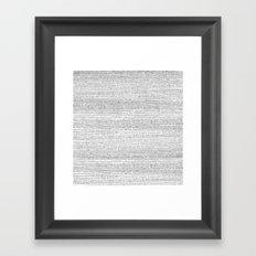 A.M. Framed Art Print