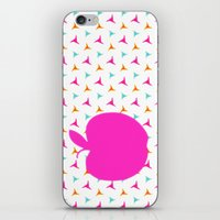 apple iPhone & iPod Skins featuring *Apple* by Mr and Mrs Quirynen