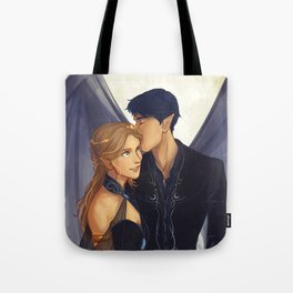 Feyre and Rhysand Tote Bag