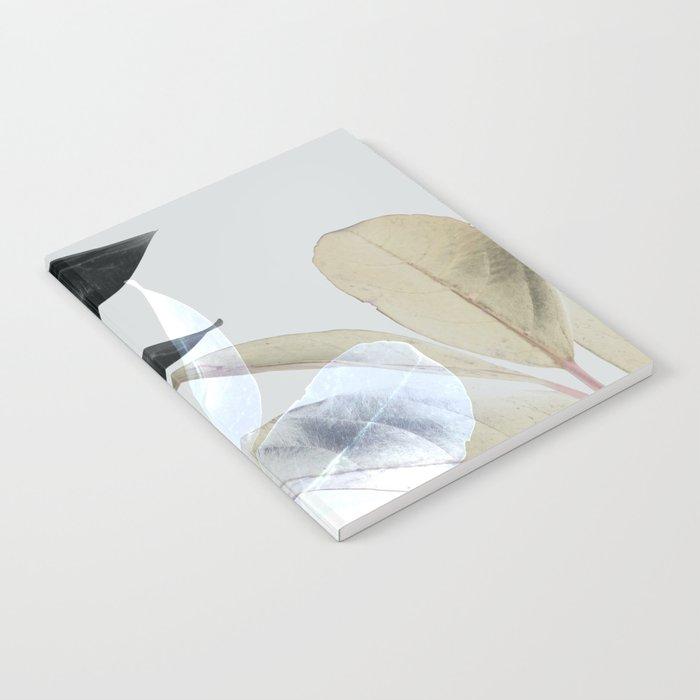 Moody Leaves II Notebook
