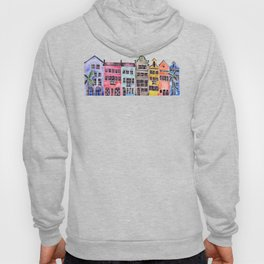 Rainbow Row – Charleston Hoody