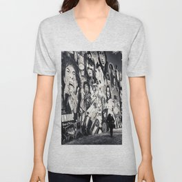 Rock n Roll Streets Unisex V-Neck
