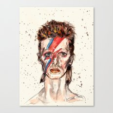 Bowie Inspired David Canvas Print