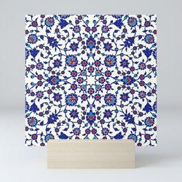 Iznik — Turkish pattern 26 Mini Art Print