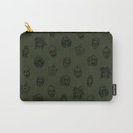 Little Monsters (green) Carry-All Pouch