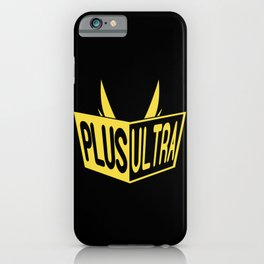 All Might Plus Ultra iPhone Case