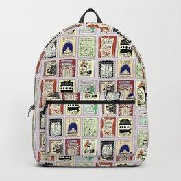 Virginia Woolf Book Covers Backpack