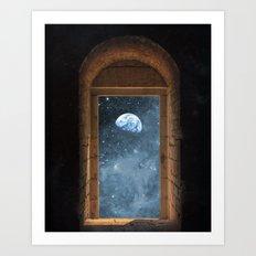 DOOR TO THE UNIVERSE Art Print