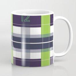 Seattle Plaid Coffee Mug