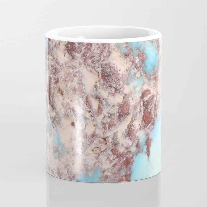 Turquoise Nugget Coffee Mug