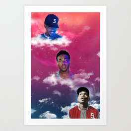 Cloudy With a Chance of Acid (remix) Art Print