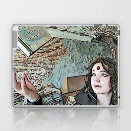 Levitating Book Laptop & iPad Skin