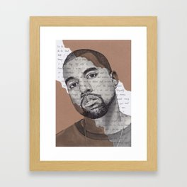Can't tell me nothing Framed Art Print