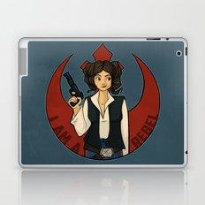 Rebel Girl Laptop & iPad Skin