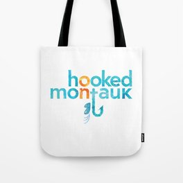 Hooked on Montauk Tote Bag
